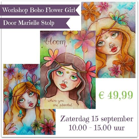 Boho Flower Girl Workshop